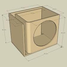 Resultado de imagen para subwoofer box design for 12 inch