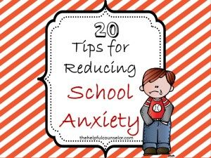 Freebie: 20 Things School Counselors Should Do Before School Starts