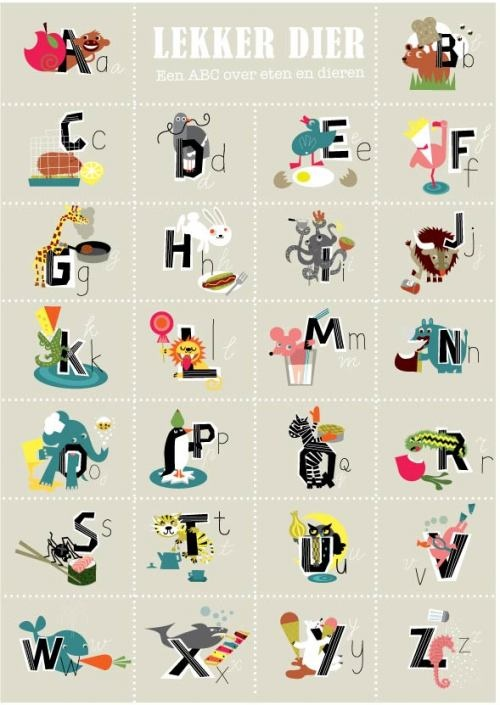 Lekker Dier -Dutch Alphabet