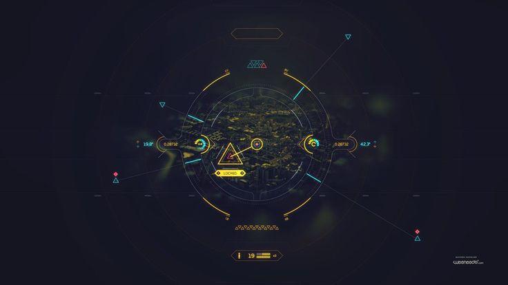 Ui and FUI for movies, games and tests, Davison Carvalho on ArtStation at https://www.artstation.com/artwork/ZlOmw