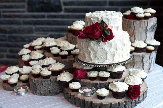decorazione Montagna terrazza : Dolci temi invernali: idee per torte e cupcakes. Idee per la torta ...