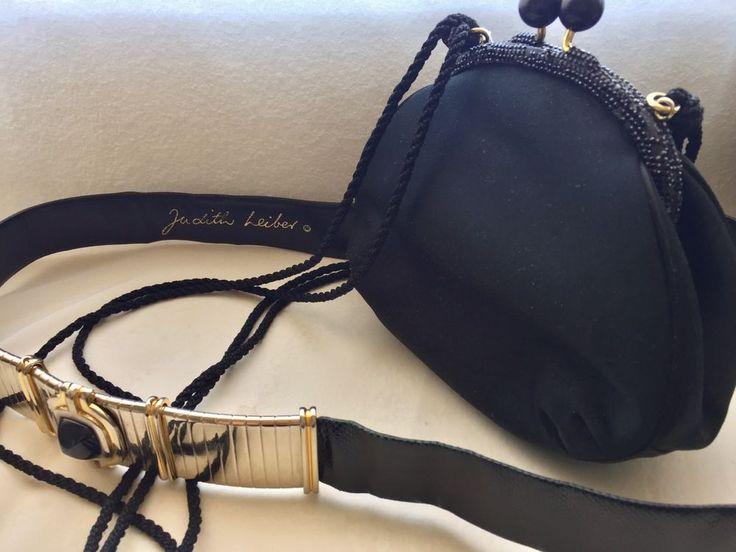 Judith+Lieber+Bag+And+Belt+#JudithLeiber