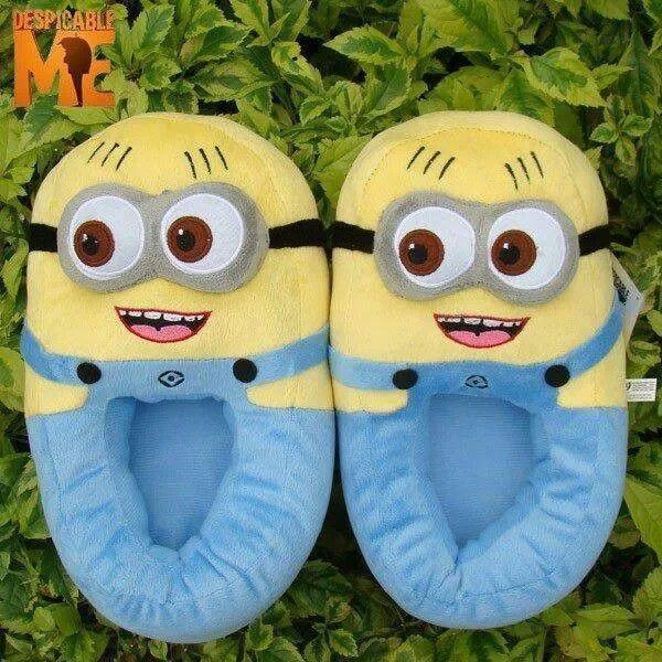 Pantuflas Minions!