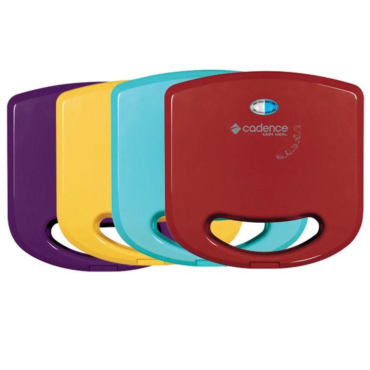 As sanduicheiras minigrill Cadence da linha Colors além de super práticas, são lindas e vão dar um charme para sua cozinha!