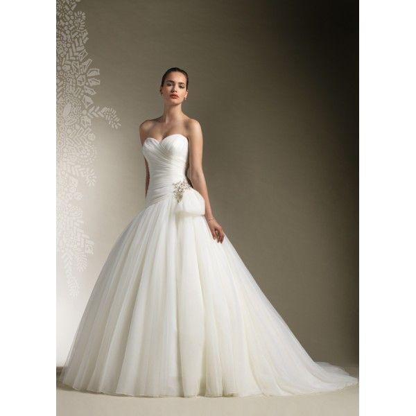 New Fashion Beaded Ball Gown Wedding Dress