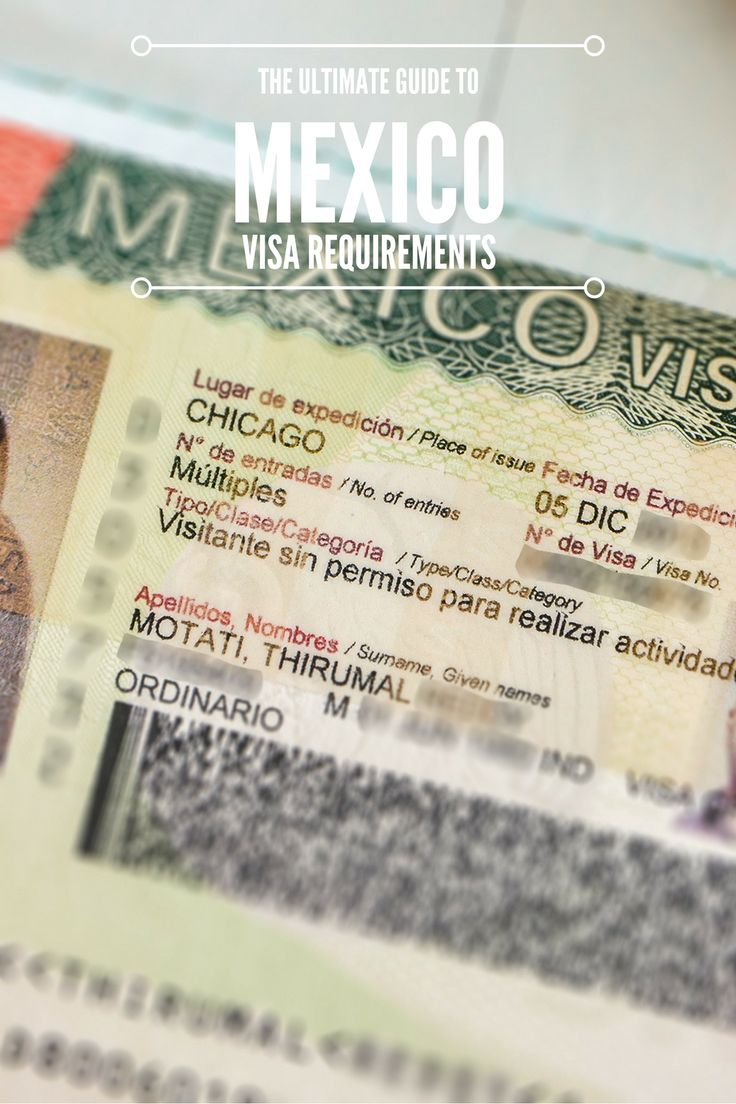 A comprehensive guide to Mexico visa requirements