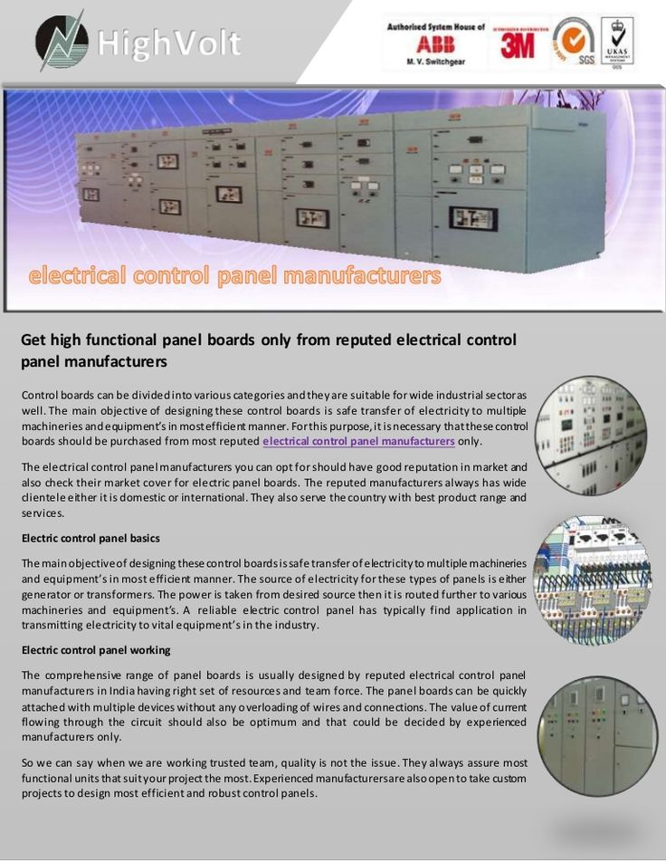 13 best Electrical Panel Manufacturers images on Pinterest ...