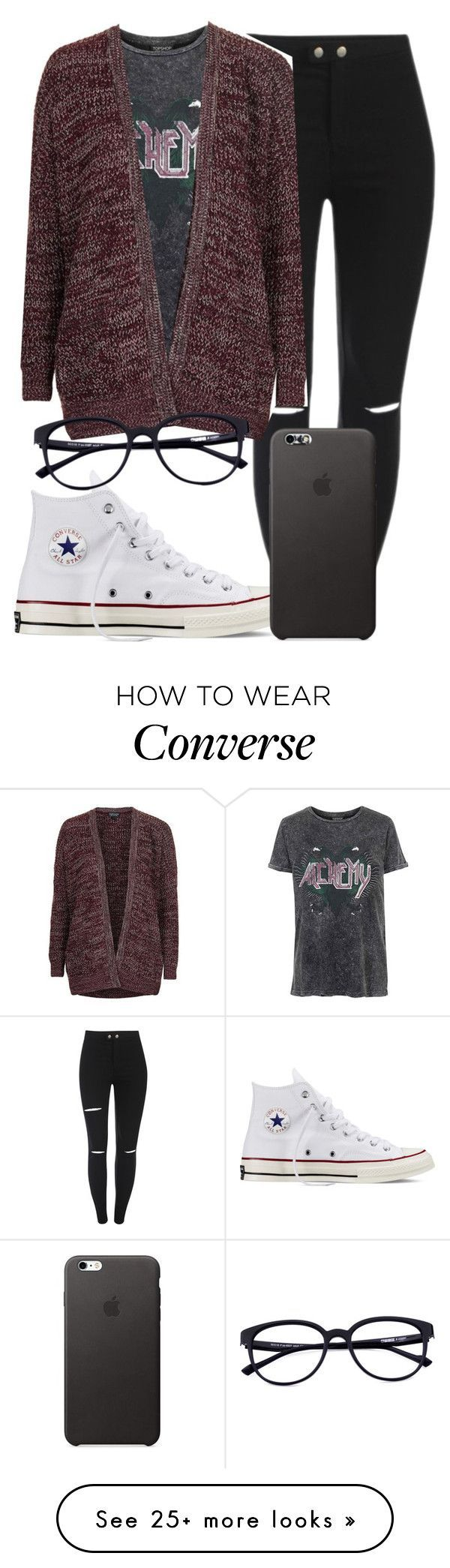 ¿ Going Native ¿ by mallorimae on Polyvore featuring Topshop and Converse