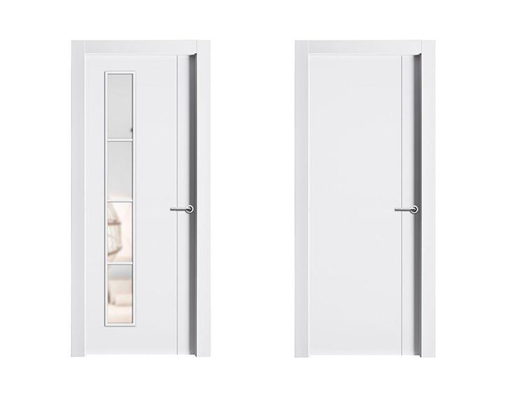 Mejores 20 im genes de puertas con cristal puertas de interior en pinterest puertas blancas for Precio puertas blancas