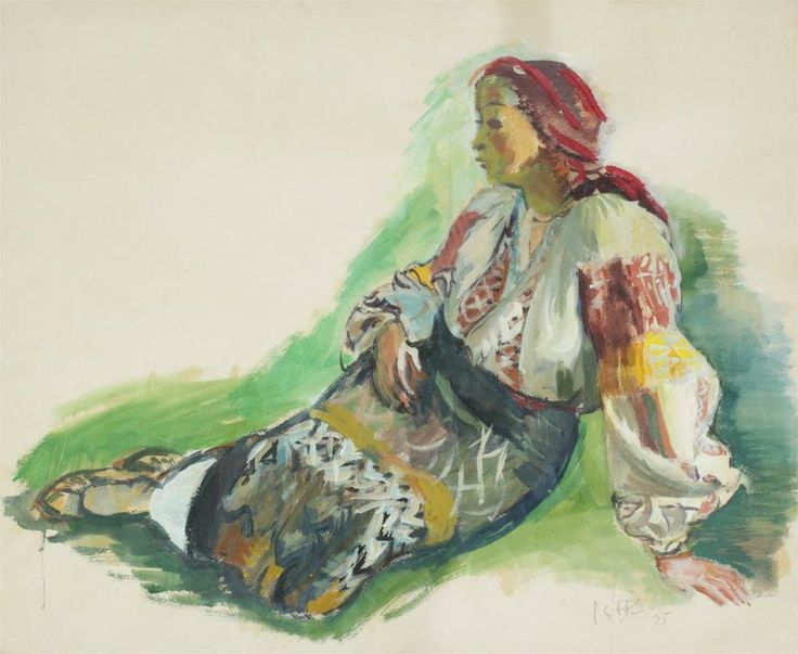 Woman from Muscel,1935- Iosif Iser