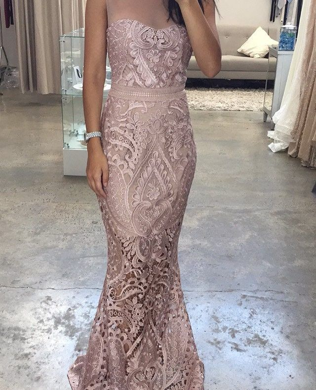 Bessy trying on our Centre Stage Gown in Blush at our Alexandria Showroom in Sydney | Also available in black and blue #whiterunway #weddingfash #wedding #bridesmaids