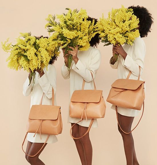 We'll take three Mansur Gavriel Lady bags!