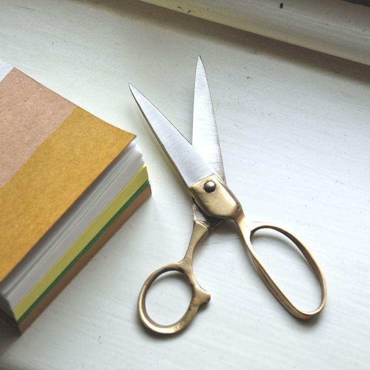 Meerut Scissors | Recycled steel and brass | Famous Indian scissor