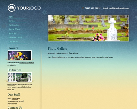 Impressive Web Design Available In 6 Color Themes. Comes Ready With SEO  Friendly Content U0026. Color ThemesWebsite BuildersFuneral HomesWebsite ...
