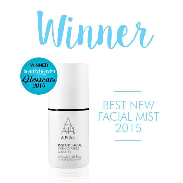 AND THE WINNER FOR BEST NEW FACIAL MIST 2015 GOES TO…INSTANT FACIAL! Thank you to everyone who voted for us! The perfect start to a Monday morning http://ow.ly/LIWpy