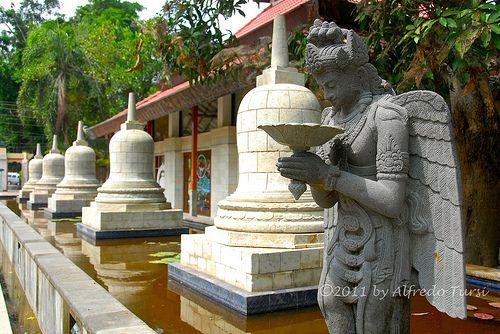 Tempio buddista, Mendut, Giava, Indonesia