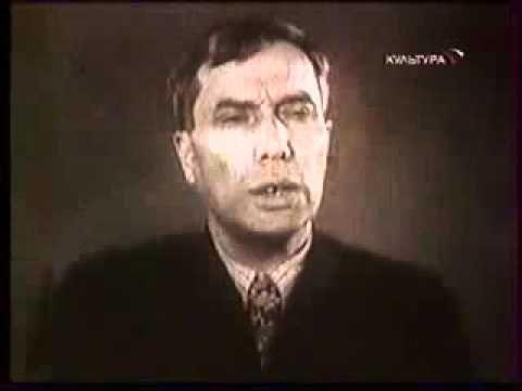 """Борис Пастернак читает """"Синий цвет"""" - YouTube"""