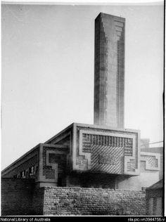 Image result for walter burley griffin incinerator randwick