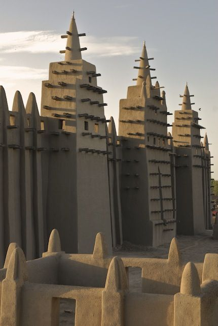 The Great Mosque in Djenné, Mali
