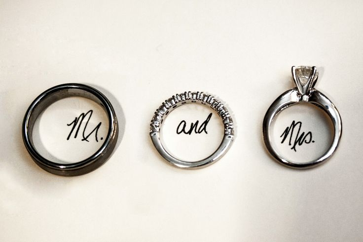 Mr and Mrs Ring Shot