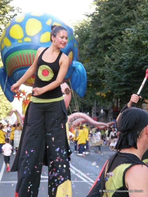 © Bilbotruska: Aste nagusia Bilbao, Desfile de la ballena