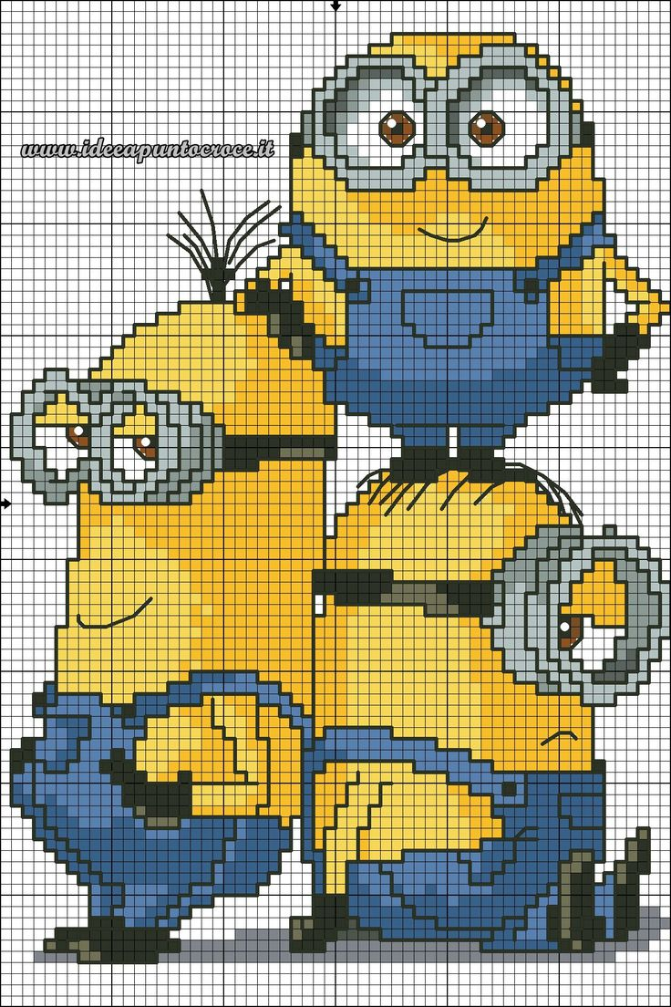 minions_cross_stitch_pattern_by_syra1974-d9drctl.jpg 1 260 × 1 890 pixlar