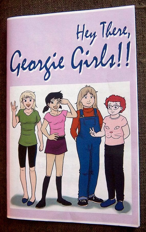 Hey There, Georgie Girls Zine!! is for sale now on Esty! Order now and get a personalized message from your fave girl!