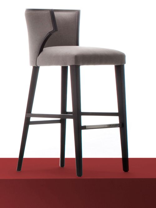 Elegant Lines For A Bar Stool
