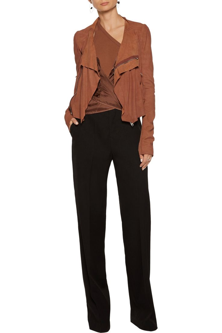 **my fav** Option 4 - Wear this jacket with jeans in Telluride, then basically this exact outfit in Toronto.