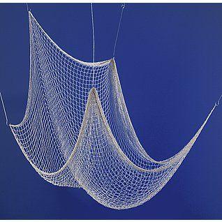 Déco Filet de pêche nature 150 x 300 cm & Décoration chez DecoWoerner