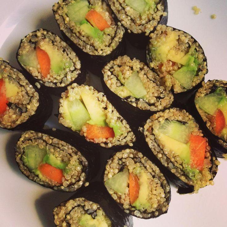 quinoa sushi! | When I get around to cooking | Pinterest