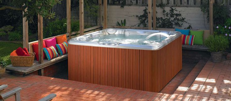 Best 25 Backyard Hot Tubs Ideas On Pinterest Hot Tub
