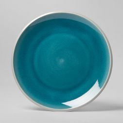 """Portel Stoneware Dinner Plate 10"""" Teal - Project 62™"""