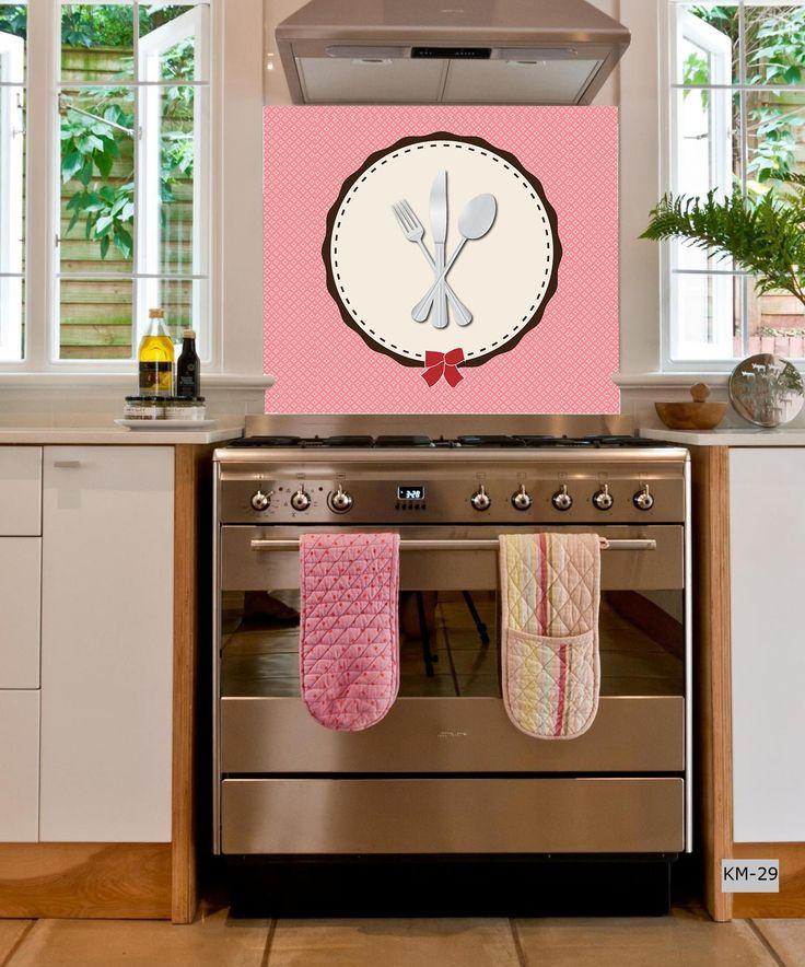 Panele szklane / glass pannels / kuchnia / kitchen / interior design