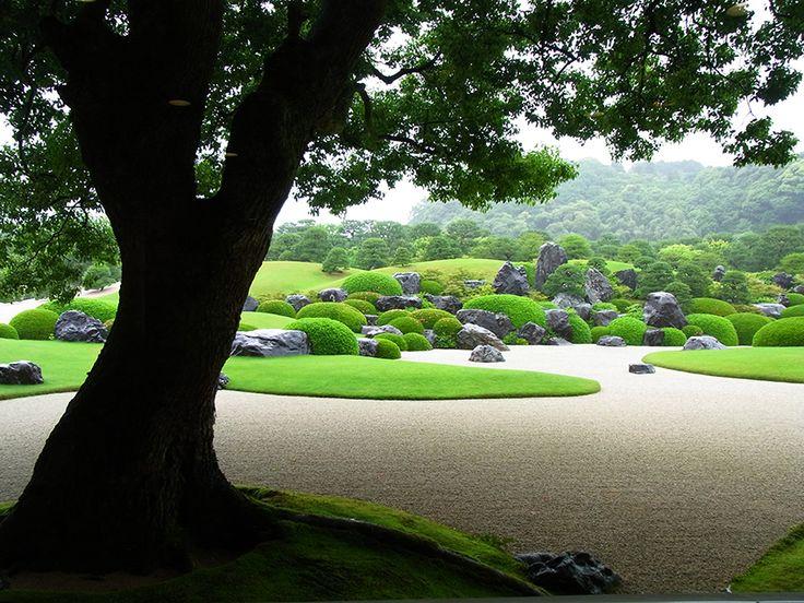 足立美術館の庭園は日本庭園ランキングで10年連続一位なんだって。頷ける美しさ!
