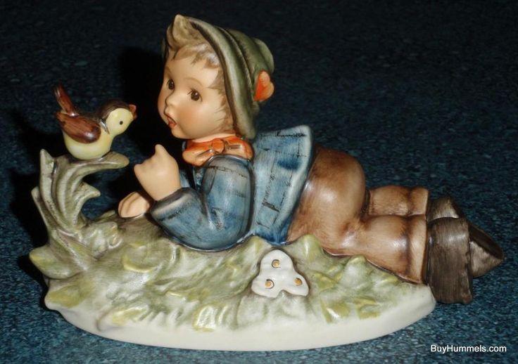 """""""Lazybones"""" Goebel Hummel Figurine #612/2/0 TMK8 Collectible Gift With Box!"""