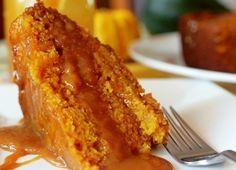 Карамельный тыквенный торт Приготовьте мягкий влажный тыквенный торт с карамельным кремом – замечательный осенний рецепт из тыквы нового урожая