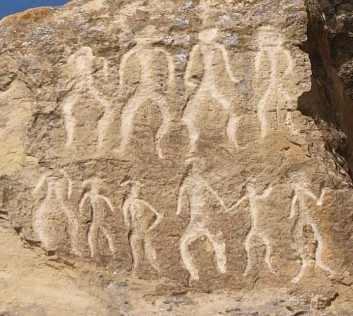 Qubustan w Azerbejdżanie i petroglify