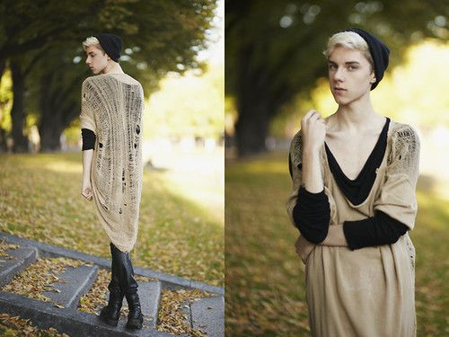 Beautiful Androgyny: Caterpillar by Mikko Puttonen