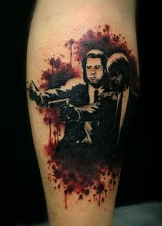 Pulp Fiction Tattoo on Pinterest | Pulp Fiction Pulp Fiction Art and ...