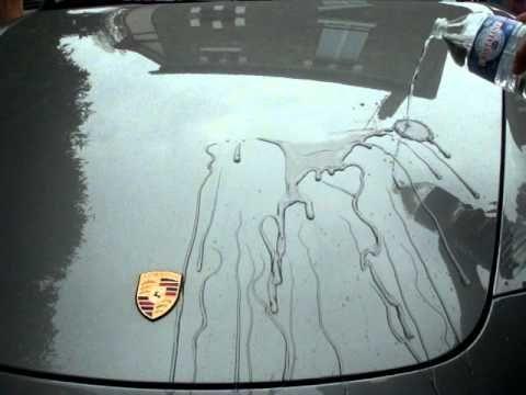 RenoPolishAuto- Beading de la cire Swissvax Concorso sur une Porsche 997 cabrio