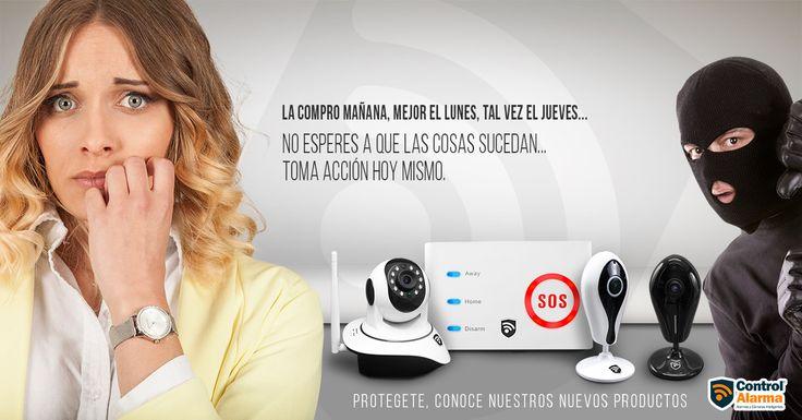 No esperes más... Complementa tu seguridad con lo último en tecnología que tenemos para ti.  www.controlalarma.com