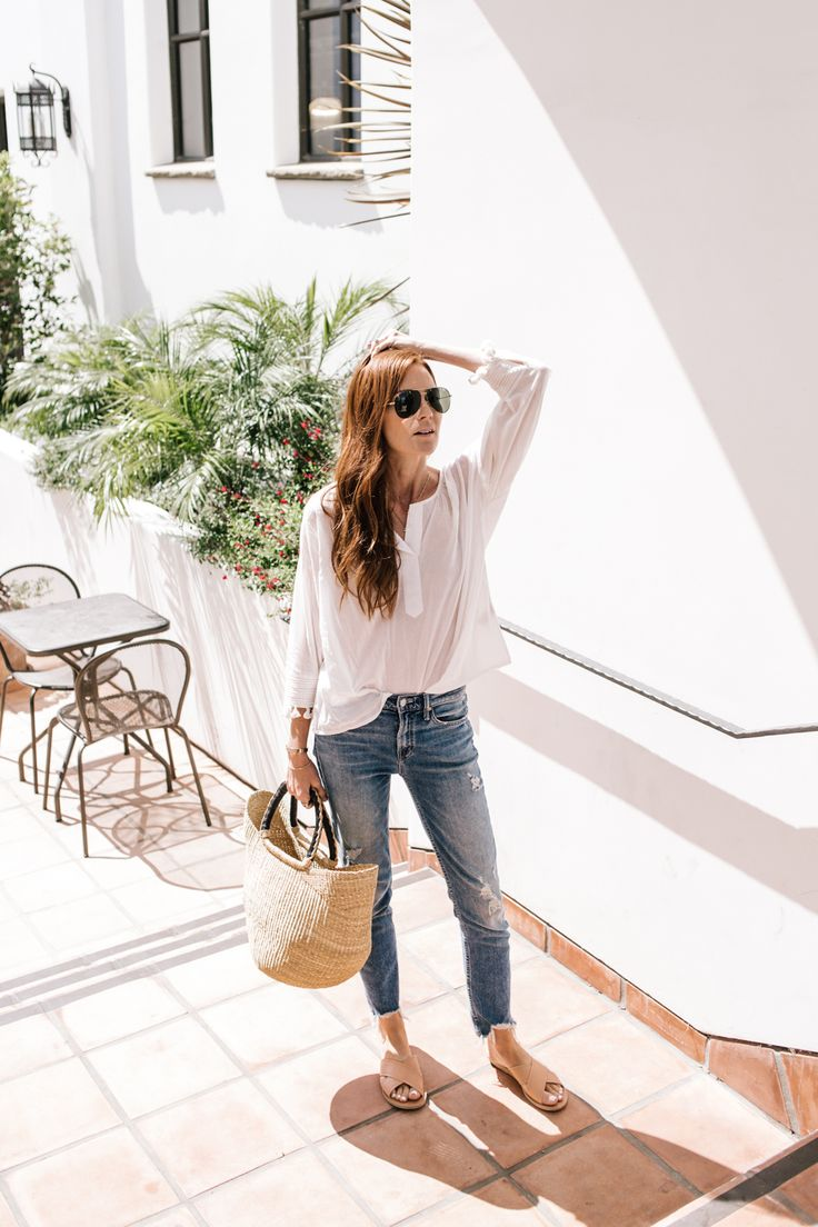 A casual day with tassels and slides. Currently my go-to style.
