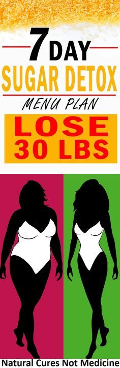 7-Day Sugar Detox Menu Plan and Lose 30 lbs http://wp.me/p8kXNw-lJ