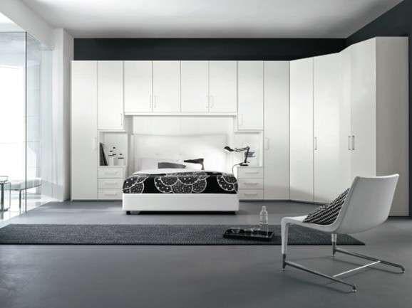 Camere da letto matrimoniali a ponte - Camera da letto dallo stile elegante