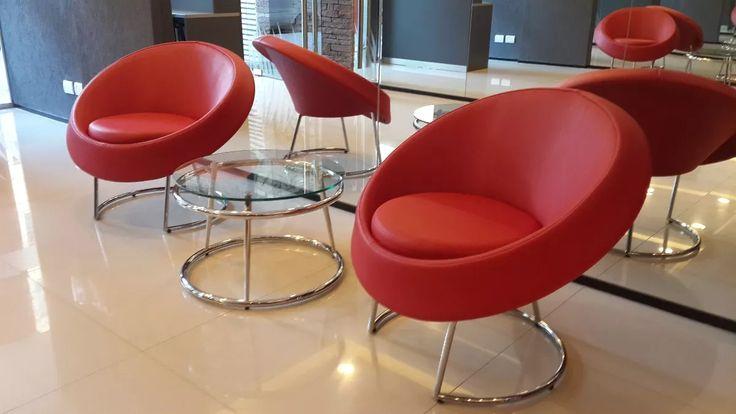 sillón 1 cuerpo moderno diseño cromado envíos fabrica