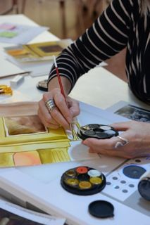 Art Around the Library: Videoconference Series for Stage 2 and 3 includes five, hour-long videoconference sessions, presented by an experienced visual art educator. The sessions offer a fully interactive experience covering drawing, painting, collage and 3D modelling techniques.