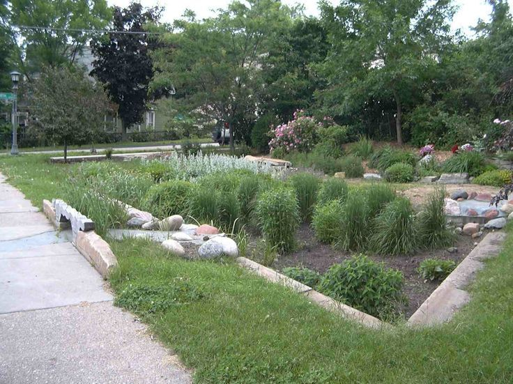 49 best slope drainage images on pinterest landscaping for Yard drainage slope