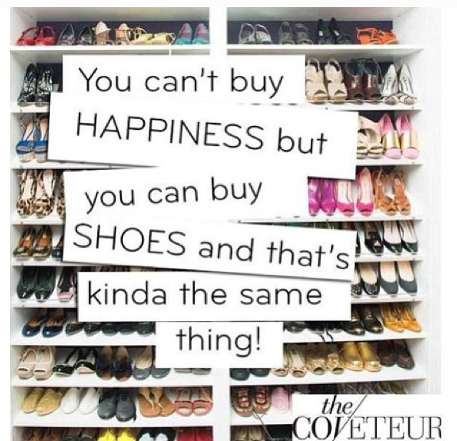 """You Can't Buy Happiness..."""