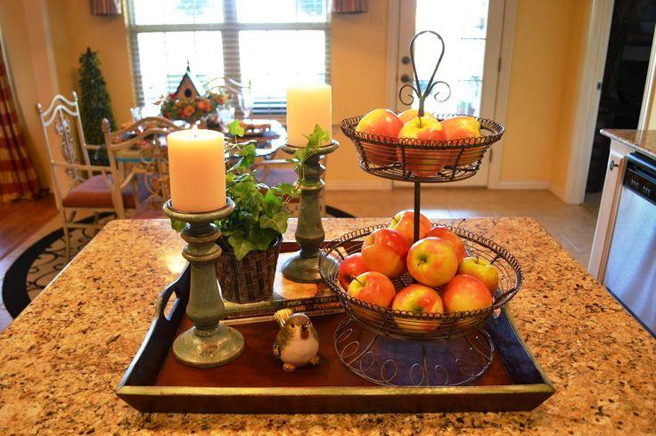 kitchen island centerpiece ideas - Google Search